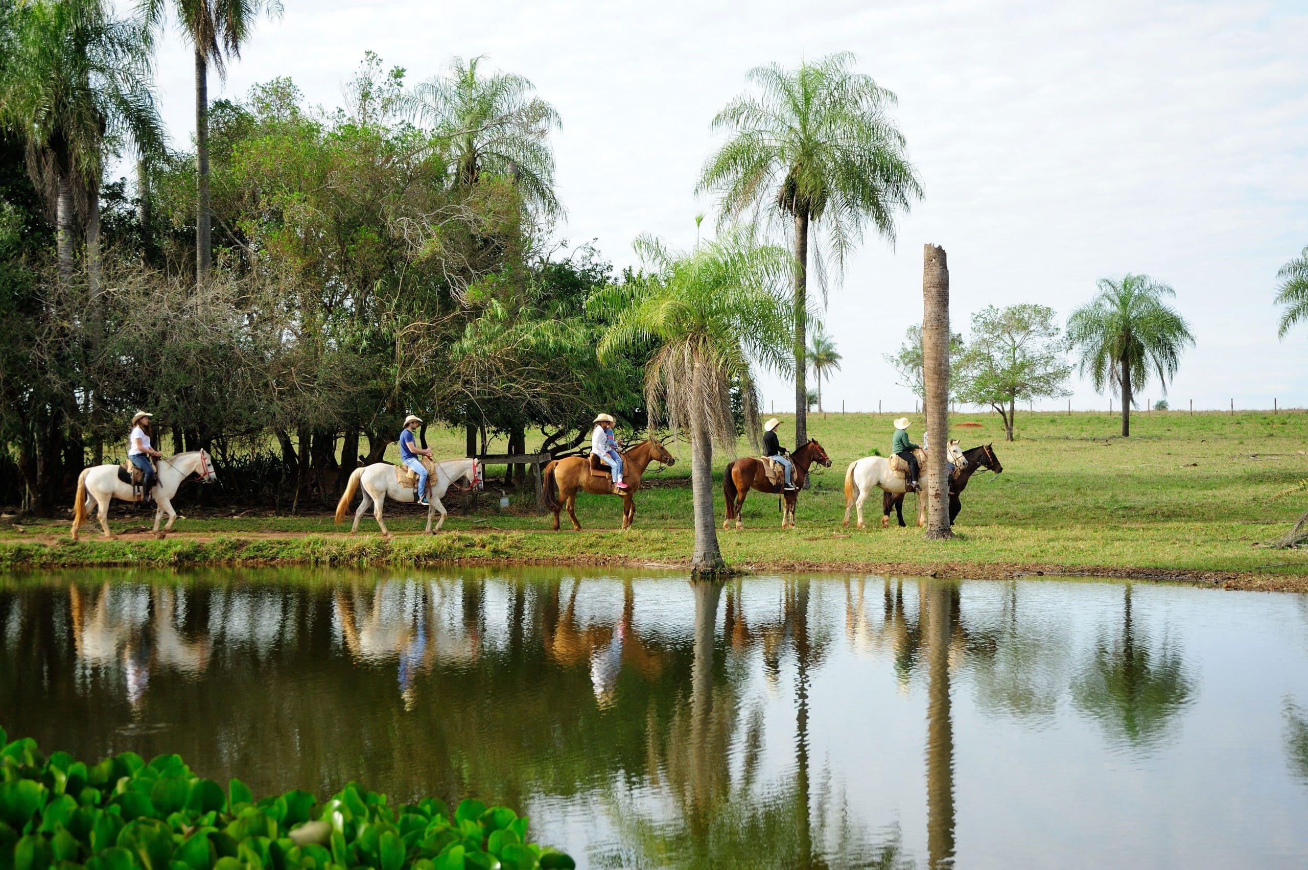 Cavalgada no Rio da Prata