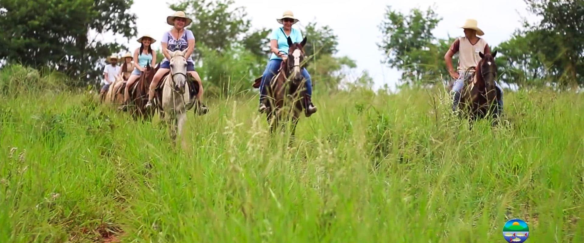 Cavalgada no Parque Ecológico do Rio Formoso
