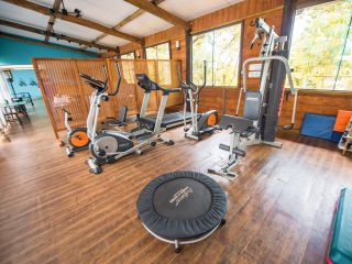 Espaço Fitness Gym Academia lazer esportes exercícios hotel em Bonito Águas de Bonito MS